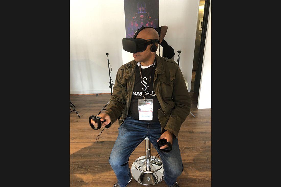 VR-compressor